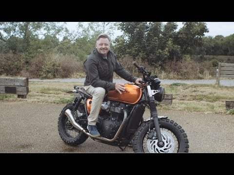 Triumph and DGR 2019 - Ride for the people you love - Charlie Boorman