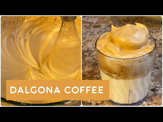 Dalgona coffee explained in telugu| Trending coffee | Us Express Bindu Vlogs