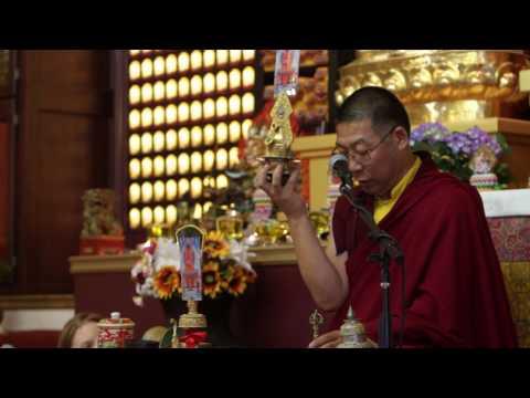 Amitabha Phowa empowerment (2) / 阿彌陀佛頗瓦灌頂(2) by Ven Lama Thubten Nima