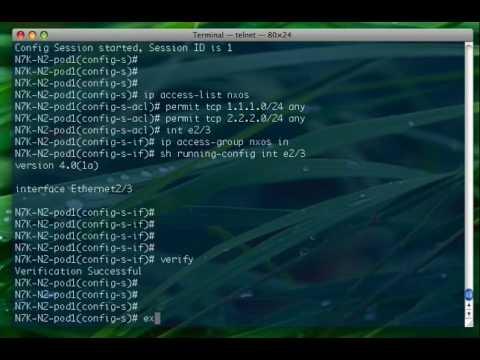 UNetLab - Setting up NX-OS (Titanium)   www.802101.com