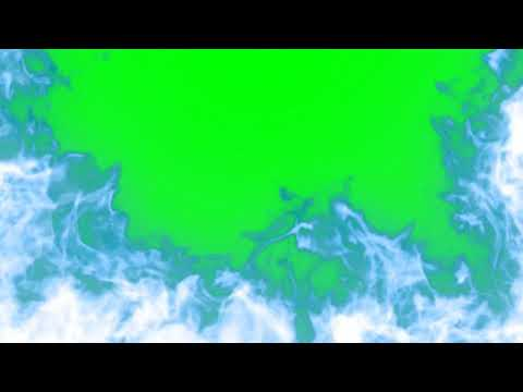 Green Screen and Black Screen Blue Fire / Ghost Fire video effects