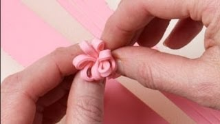 How to Make Ribbon Decorations Using Fondant and Modeling Chocolate