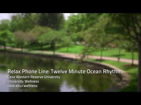Relax Phone Line: Twelve Minute Ocean Rhythm
