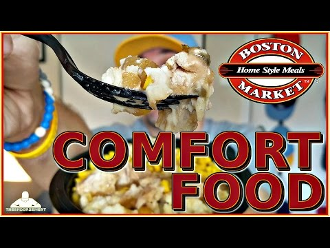 BOSTON MARKET® | SWEET & SPICY APPLE CHICKEN REVIEW | MARKET BOWL