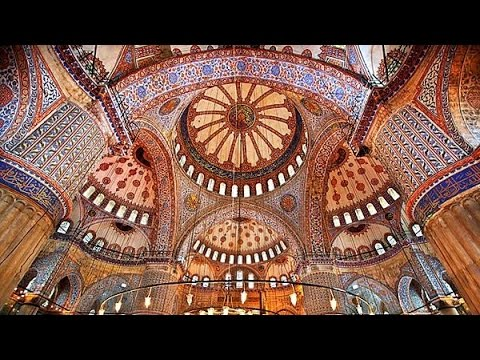 Jumuah: Inside Blue Mosque Istanbul Turkey Tourism Travel Video Guide