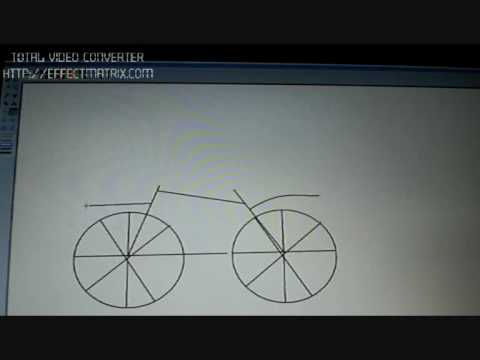 how to draw a bicycle youtube