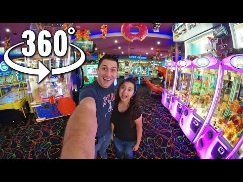 Our first Virtual Reality Arcade 360° Video!