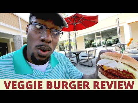 THE BEYOND MEAT BURGER AT VEGGIE GRILL