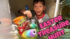 HUGE EASTER EGG TREASURE HUNT | Hundreds of EGGS & Hidden Baskets