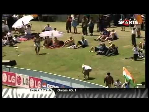 India vs The Netherlands - ICC Cricket World Cup 2003 match at Paarl, South Africa