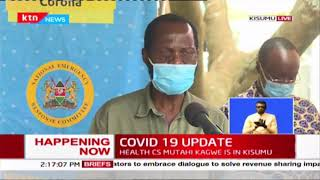 How well is Kisumu prepared to tackle COVID-19? Governor Nyong'o's speech during MoH Kisumu tour