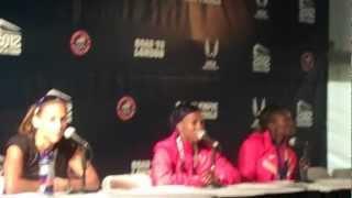Lolo Jones, Dawn Harper, and Kellie Wells Your 110m Hurdle Olympic Team