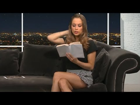 Claire Delorme Tv Presenter From France Youtube