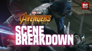 Avengers Infinity War: Scene Breakdown ( Why Corvus Glaive Can't Get Up ) Plus Theory