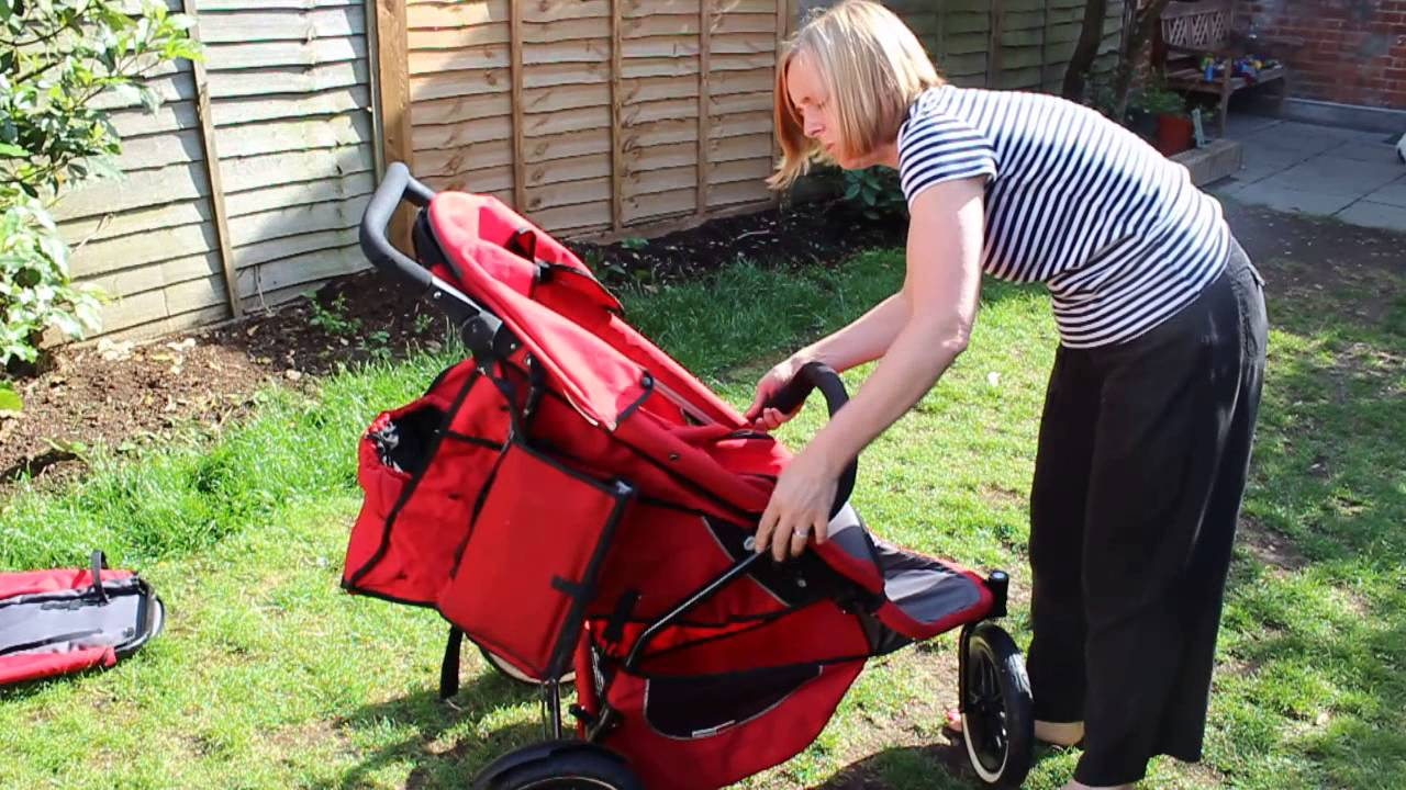 How To Configure Phil Teds Sport Double Buggy Youtube