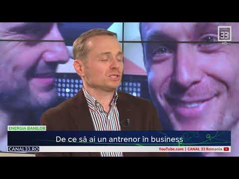 De ce să ai un antrenor în business  - [ Interviu pentru Canal 33 ]