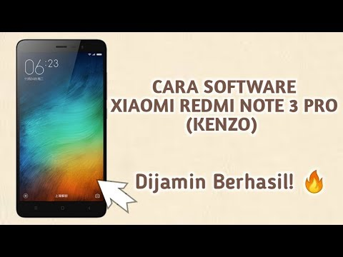 cara-flash-/-software-xiaomi-redmi-note-3-pro-(-kenzo-)