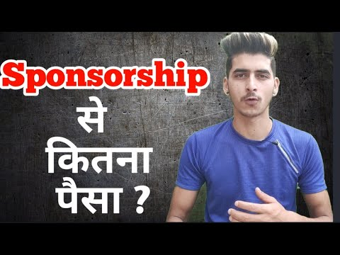 How much money Indian YouTuber earn from sponsorship