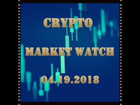 Crypto Market Watch - 04.19.2018