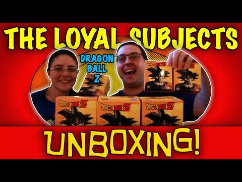 Thumbnail: UNBOXING! The Loyal Subjects Dragon Ball Z Action Vinyls - 6 Hot Topic Exclusives - #DragonBallZ
