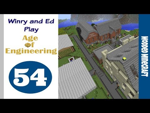 [54] Base Tour #2 | Age of Engineering | 1.10.2 Modded Minec