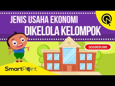 5 Jenis Usaha Ekonomi Yang Dikelola Oleh Kelompok Smartpoint Sd5003ubk Youtube