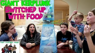 GIANT KERPLUNK SWITCHED UP WITH FOOD / That YouTub3 Family