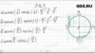 видео ГДЗ по алгебре 10-11 класс. Алимов Ш.А. - решебник, ответы онлайн