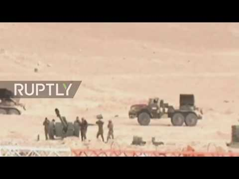 SAA retakes control of gas field in Homs province nord - nord east Palmyra 15 06 2017
