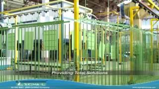 SIGMA LINK Powder Coating Line - Paint Plant Manufacturer