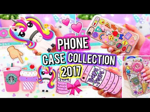 HUGE iPhone Case Collection 2017!