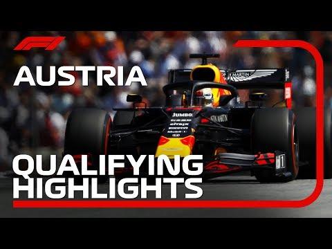 2019 Austrian Grand Prix: Qualifying Highlights