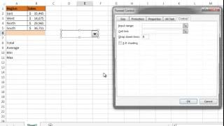 USE Choose function with Combo Box-(Hindi)-Bhavesh's Excel Tricks