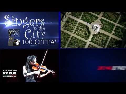WBE TELEVISION GROUP APERTE LE ISCRIZIONI AL CONCORSO SINGERS IN THE CITY 100 CITTA'
