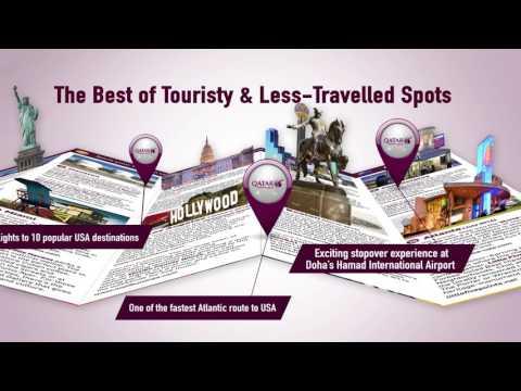 Qatar Airways USA Pocket Guide by SPH Newspaper