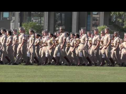 2017 Texas A&M Corps of Cadets Parents Review - FTAB and Corps Staff Entry