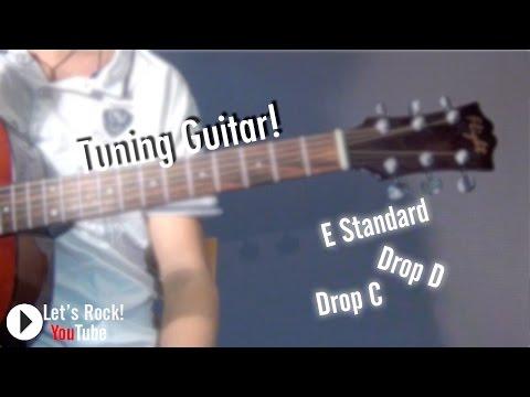 Как настроить гитару? [E Standard | Drop D | Drop C]