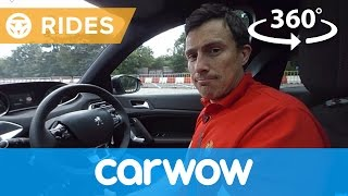 Peugeot 308 2017 Hatchback 360 degree test drive | Passenger Rides