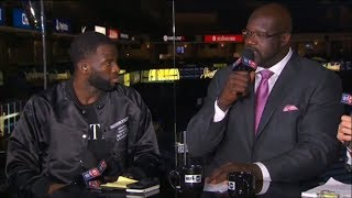 Draymond Green Joins The Crew Postgame | Rockets vs Warriors Game 6 | May 26, 2018