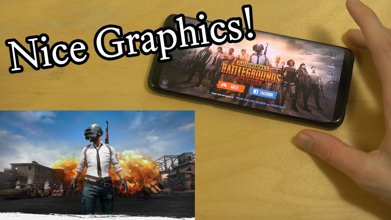 PUBG Samsung Galaxy S8 Gameplay Review!