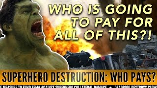 Who's Gonna Pay for all this Superhero Destruction? | Idea Channel | PBS Digital Studios