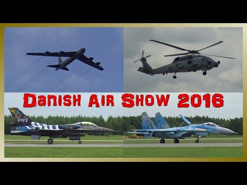 Danish Air Show 2016 | HIGHLIGHTS Flying Display | F-16, SU-27, MIG-29 and more