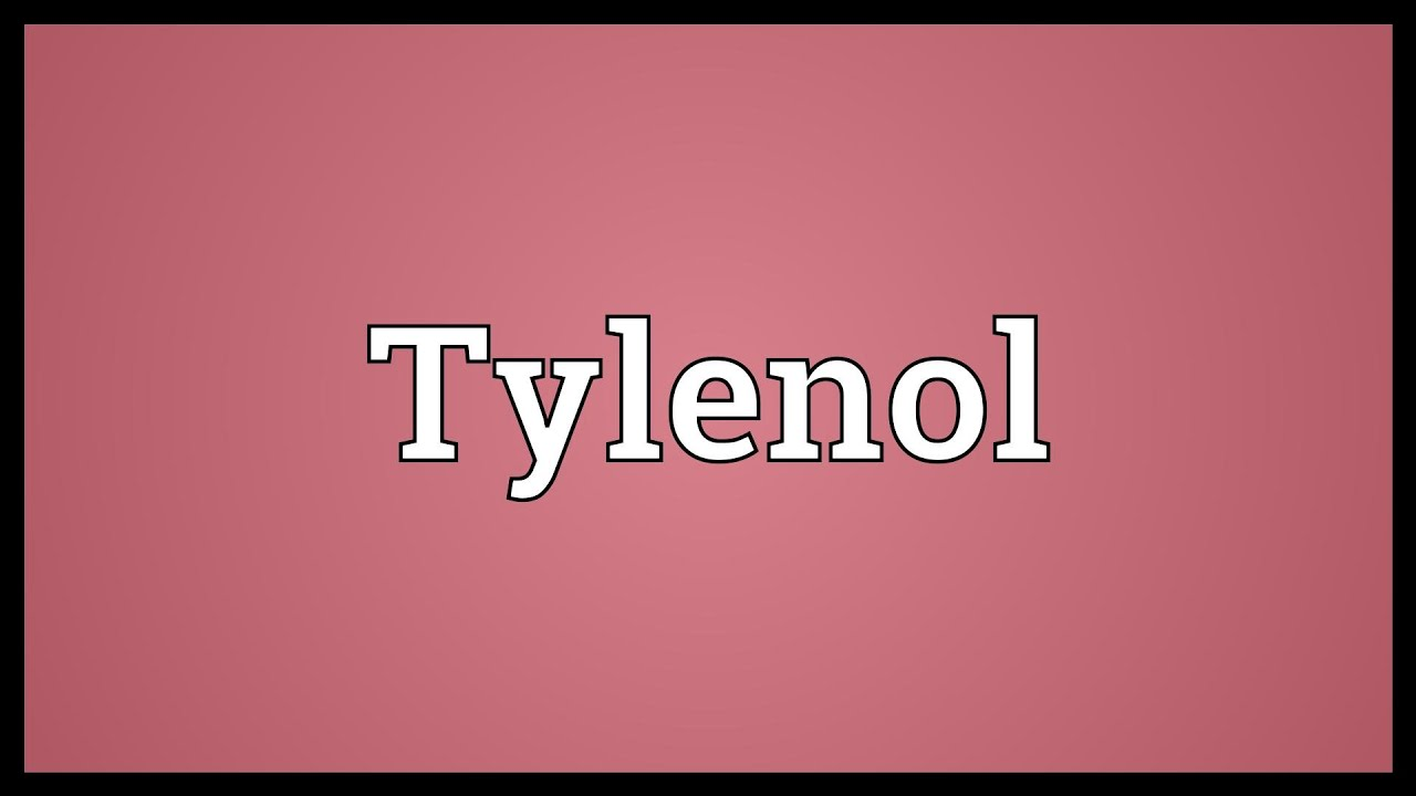 tylenol meaning