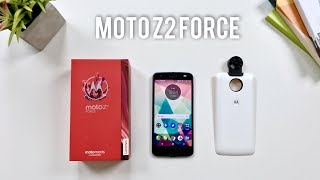moto z2 force Unboxing and Hands On Review!
