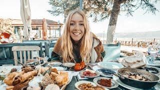 Unsere erste Woche in der Türkei Riesiges türkisches Frühstücksfest  VAN LIFE TÜRKEI