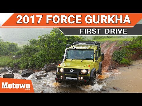 New 2017 Force Gurkha 4X4