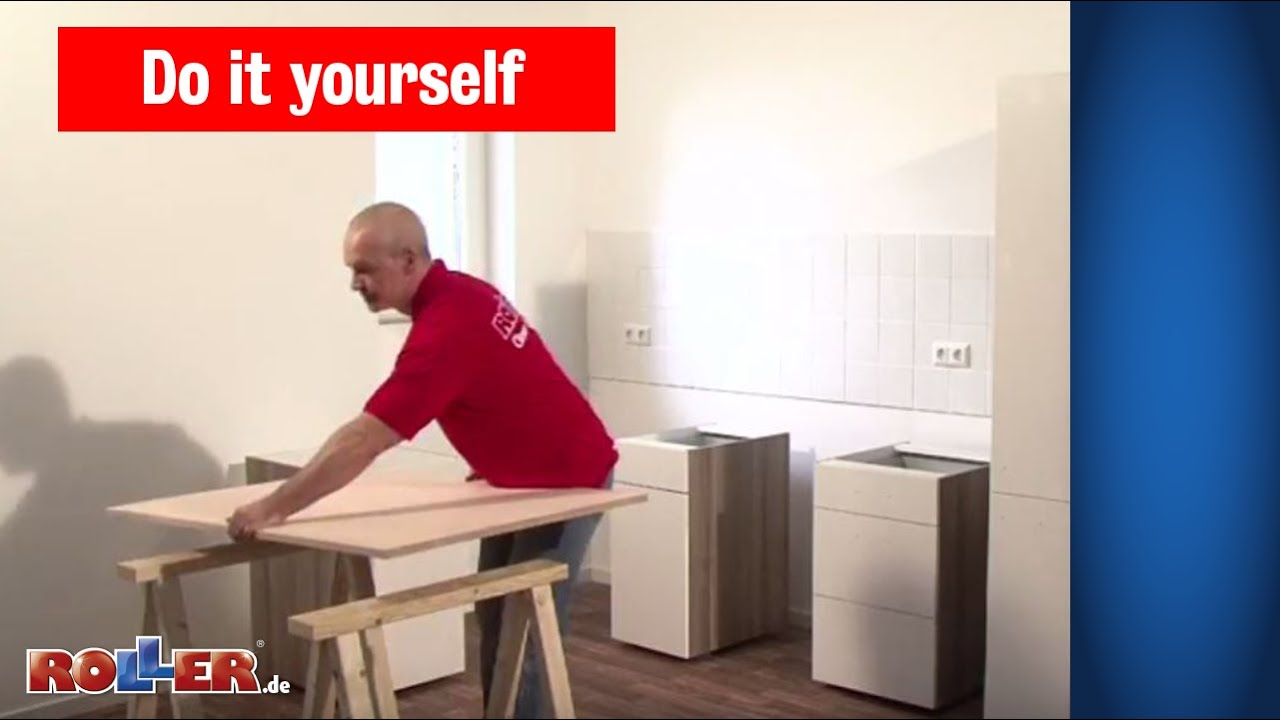 Küchen Schränke Montieren Roller Do It Yourself Youtube