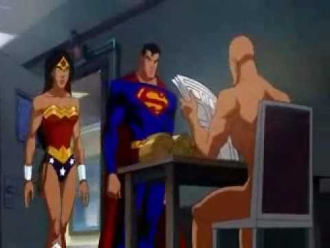 Lex Luther Naked In Crisis On Two Earths