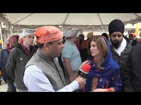 Interview with Hon' Rona Ambrose - Conservative Party - Khalsa Day, Toronto April 24th 2016