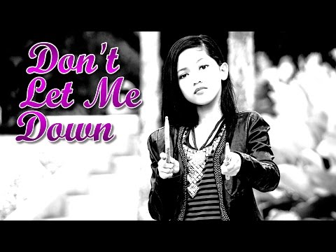 The Chainsmokers - Don't Let Me Down ft. Daya -  Drum Cover by Nur Amira Syahira